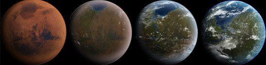 Terraforming Mars by Daein Ballard on Wikimedia Commons