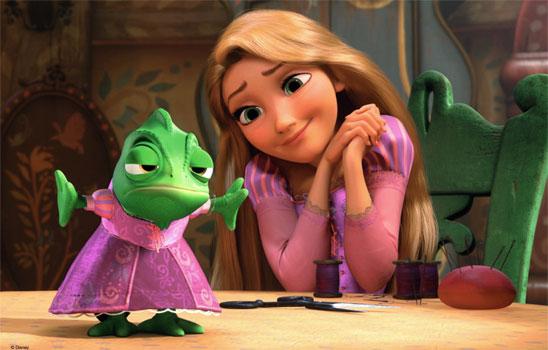 rapunzel story book