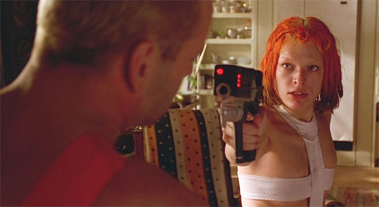"""Never without my permission."" - Fifth Element"