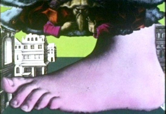 The Foot of God from Monty Python's Flying Circus