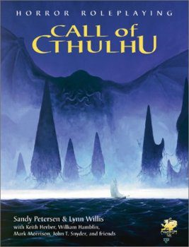 Call of Cthulhu book