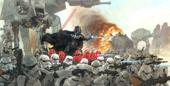 Vader is powerful in his own right, but he also commands legions of the Empire's finest.