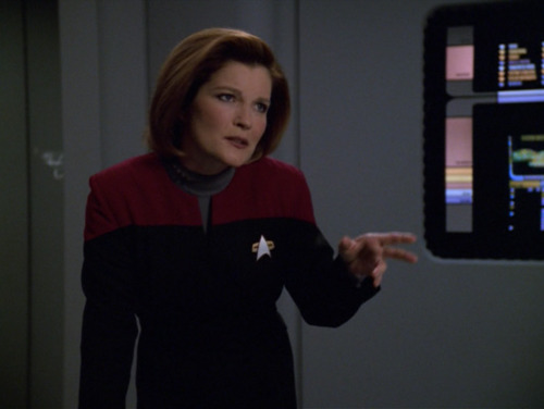 Janeway suffers from being a Contrary Leader. Viewers might wonder if she actually wants her crew to get home.