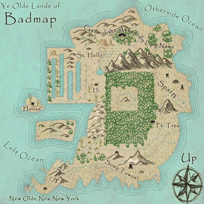 Badmap