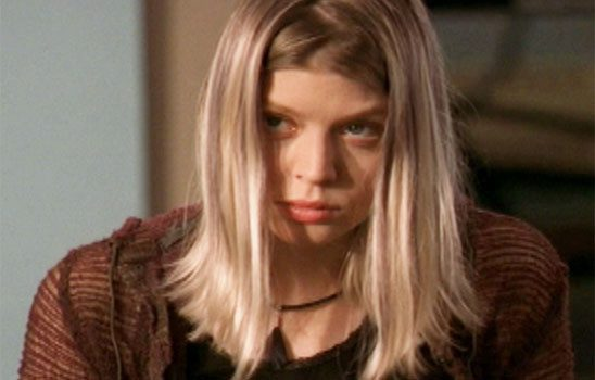 When Tara first appears on Buffy the Vampire Slayer, she is painfully shy.