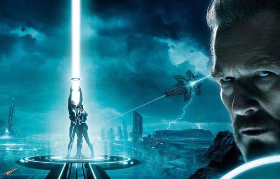 In Tron Legacy, Samantha finds her missing mother, a legendary software engineer, trapped into the digital realm she created.