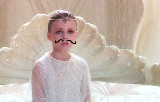 In the Neverending Story,  the child emperor falls ill as his kingdom diminishes.