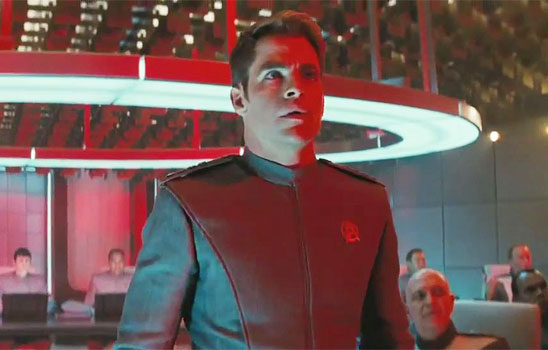 The Star Trek reboots feature a bold, idealistic future where every leader worth mentioning is female.