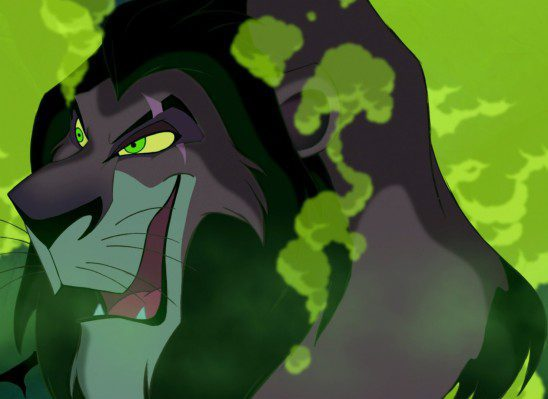 Scar want to rule for the sole reason of ruling and seems unconcerned with his Kingdom's well being.