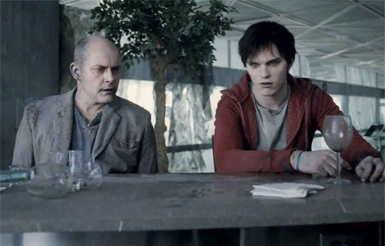 In Warm Bodies, the main character is a zombie. The movie openings with him narrating about his daily life.