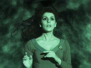 Deanna Troi in a cloudy dream
