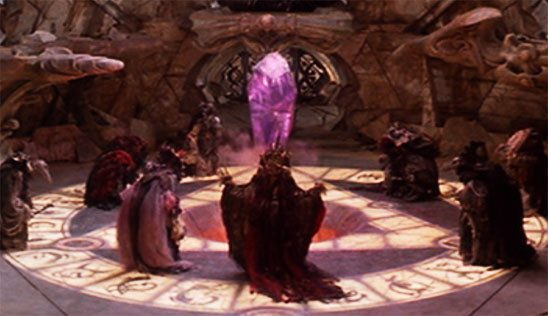 Skeksis Ceremony from The Dark Crystal