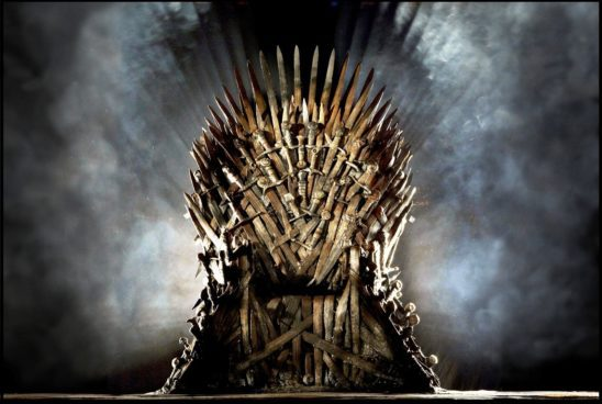 The Iron Throne from Game of Thrones