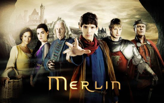 The cast of BBC's Merlin