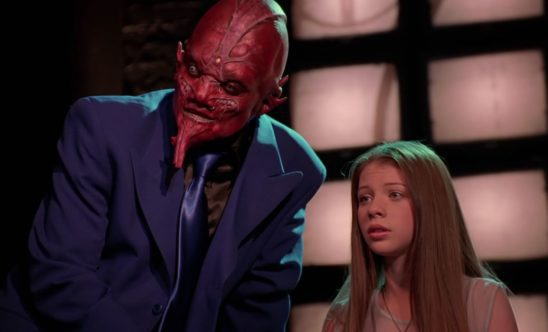 Dawn Summers and a music demon.