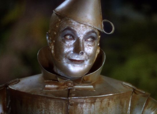 The Tin Man from the Wizard of Oz.