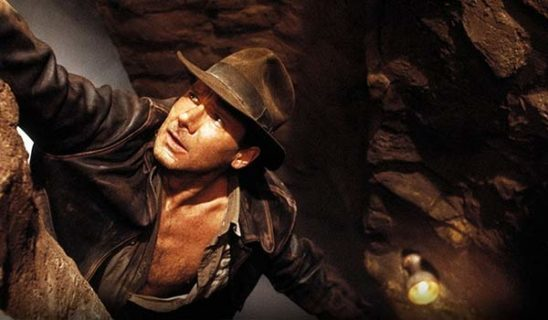 In Indiana Jones and the Last Crusade, Indiana's father represents the need to let the holy grail go. After an internal struggle, Indiana listens.