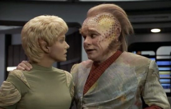 In Voyager, when Kes' psychic abilities begin to appear, Neelix tells her she's imagining it.