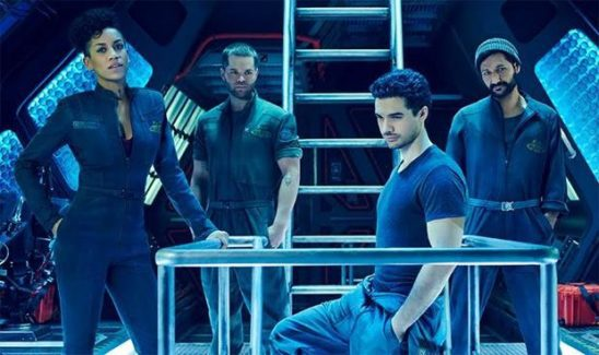 Main cast of the Expanse