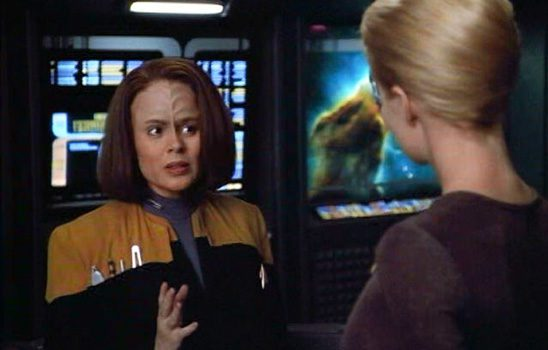 In Voyager, Torres and Seven have a personality conflict.