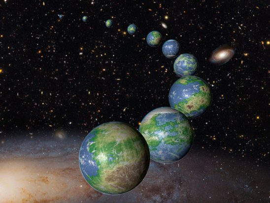 about abandoning Earth and colonizing