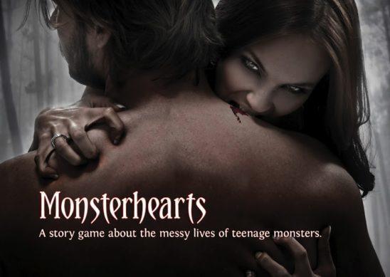 Title art from Monsterhearts.