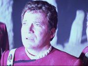 Kirk standing on the god planet in Star Trek V.