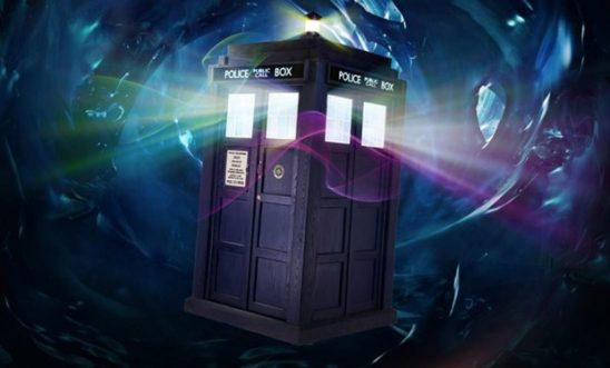 The Tardis from Doctor Who.