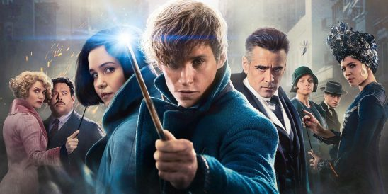 The cast from Fantastic Beasts and Where to Find Them