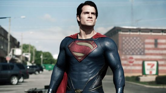 Superman from the Man of Steel film.