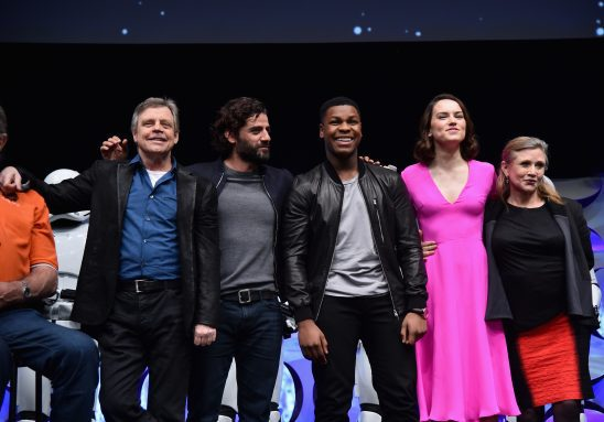 The Force Awakens cast.