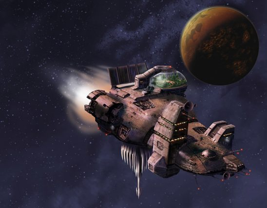 The ship from The Long Way to a Small Angry Planet.