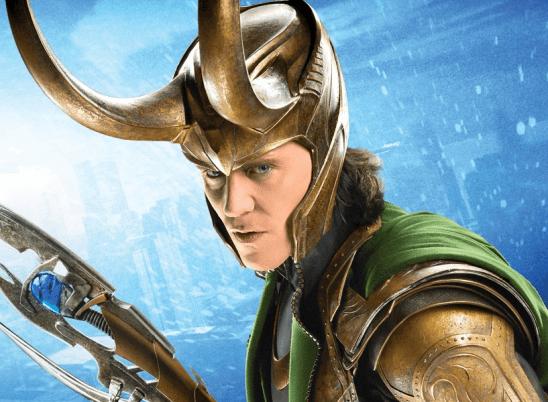 Loki in battle armor from The Avengers.