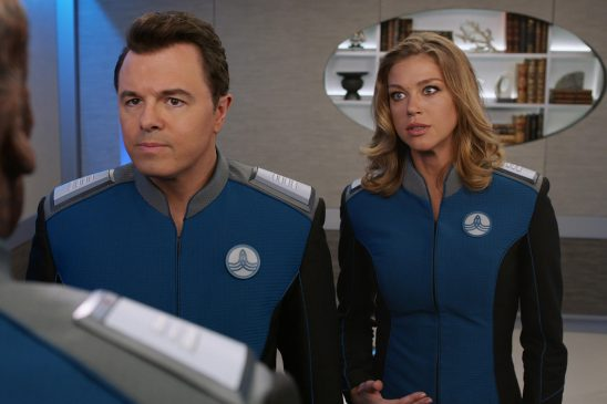 Mercer and Grayson from the Orville.