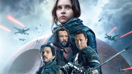 Movie poster from Rogue One.