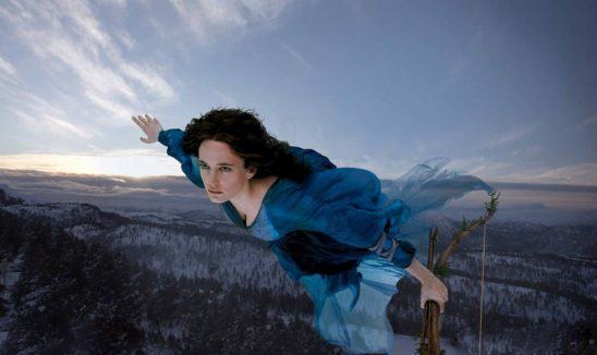 Serafina Pekkala from the Golden Compass.