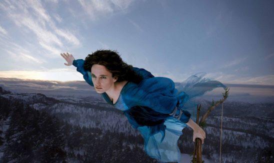 Serafina Pekkala from the Golden Compass.
