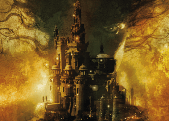Cover art from The Hundred Thousand Kingdoms