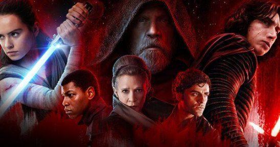 The Last Jedi poster.