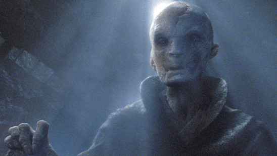 Snoke from The Force Awakens