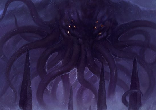 Lord Cthulhu, from the Call of Cthulhu cover art.