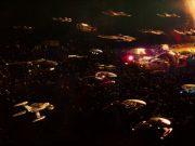 Starfleet and Klingon ships facing off in Star Trek: Discovery