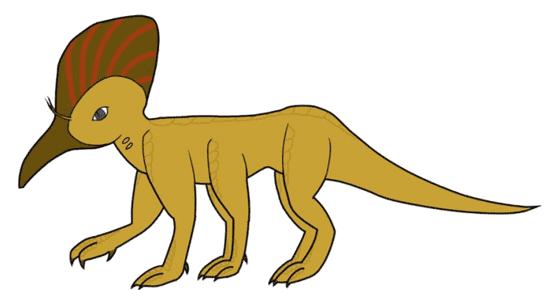 A scaly six legged creature.