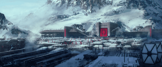 First Order troops assembled in The Force Awakens.