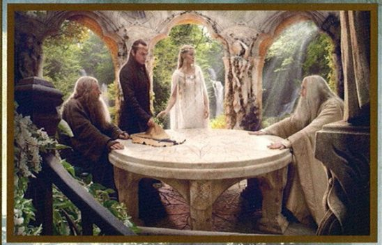 The White Council from the Hobbit Film