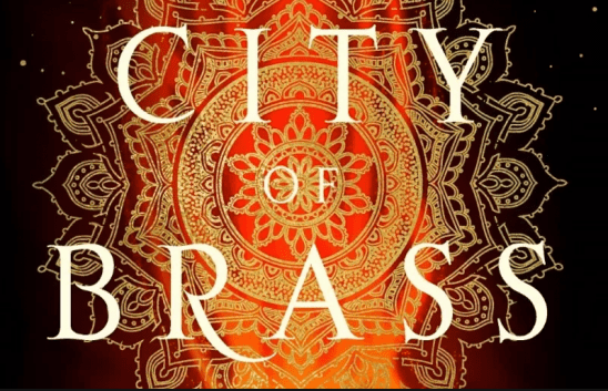 Cover art for City of Brass.