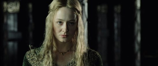 Eowyn from Two Towers.