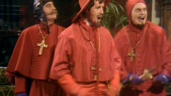 The Spanish Inquisition from Monty Python