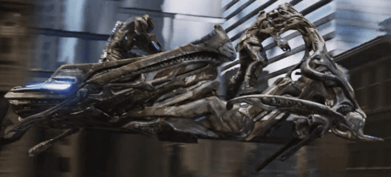 A Chitauri flyer from The Avengers.