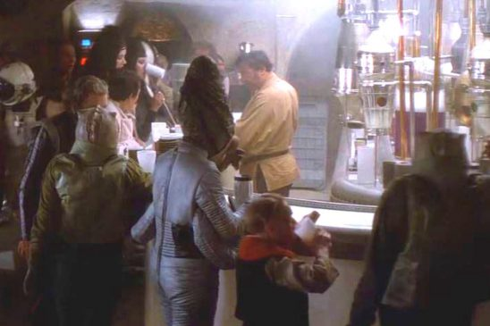 Aliens from the Mos Eisley cantina.